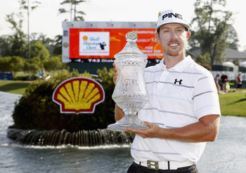 Hunter Mahan got his second win of 2012 at Houston.