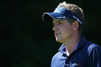 Luke Donald is looking for his first major title.