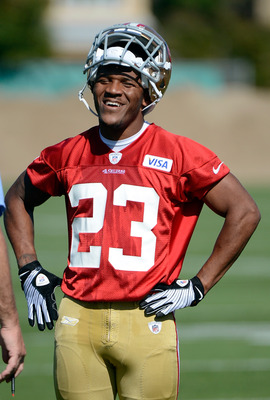 LaMichael James has a lot to smile about.
