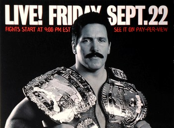 Dan Severn vs. Pedro Rizzo was not a fight that should have been made, and UFC brass even admitted such.