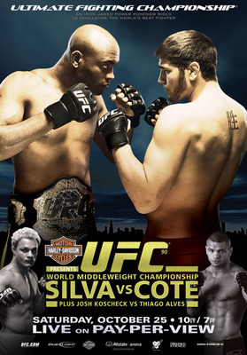 UFC 90 was mediocre, but its main event fell flat, souring the whole card for most fans.
