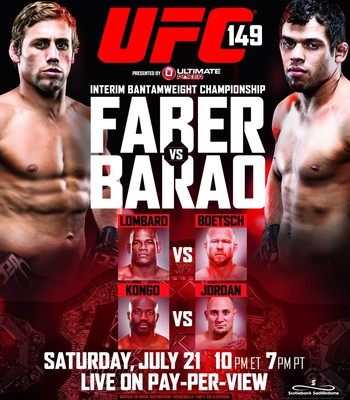 Riddled by injuries and slow-paced fights, UFC 149 is one of the weakest cards PPV cards, ever.