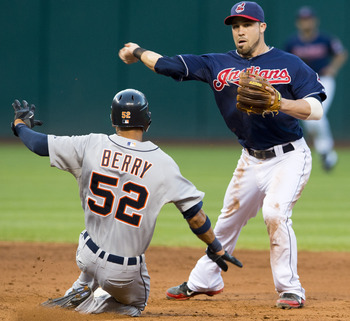 Jason Kipnis is a rising star for the Indians.