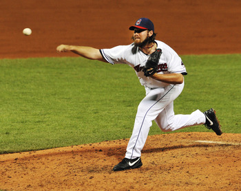 Chris Perez has been reliable but has had some epic blow-ups in 2012.