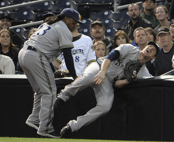 Gamel went down for the count early in the season.
