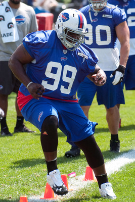 Marcell Dareus plans to build off of an impressive rookie season