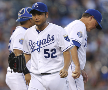 Bruce Chen leads the Royals in wins. That can't be the case on a contending team.