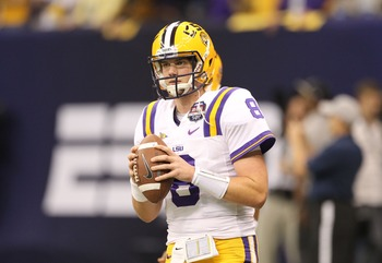 Despite having never started a college game, big things are expected of Mettenberger.