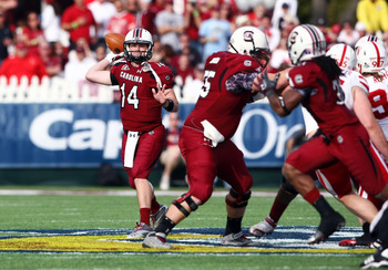 Shaw provides stability at the QB position that the Gamecocks lacked the last four years under Stephen Garcia.
