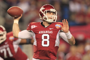Wilson will look to be the SEC's leading passer for the second consecutive season.