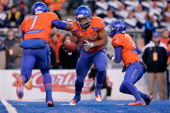 Boise State and its blue turf