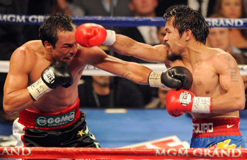 Juan Manuel Marquez and Manny Pacquiao dueling for the third time.