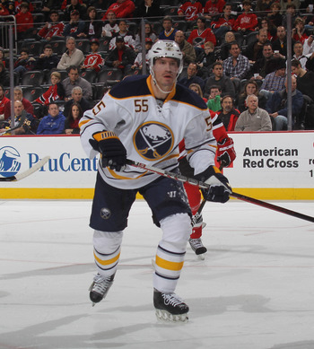 Jochen Hecht of the Buffalo Sabres.