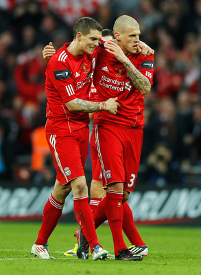 Daniel Agger (left) Martin Skrtel (right)