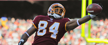 Niles Paul has the same jersey digits as Hall of Famer Shannon Sharpe. Redskins.com