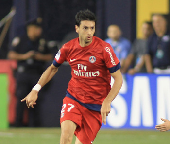 Javier Pastore will be the playmaker PSG needs to keep the offense moving