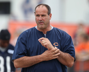 Mike Tice, Chicago's new offensive coordinator