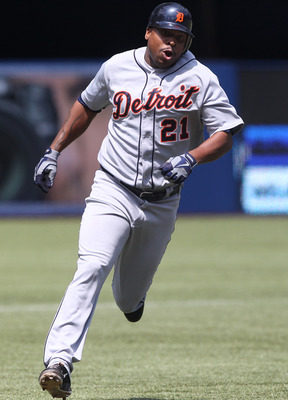 Delmon Young was traded by the Minnesota Twins to the Detroit Tigers on Aug. 15 last year.