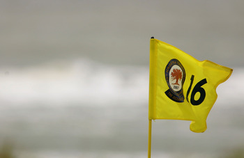 Flags can blow strong in Kiawah's winds