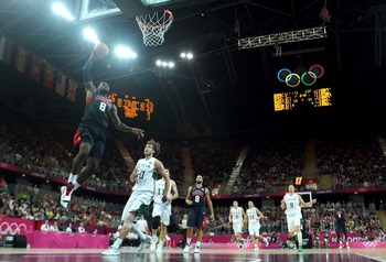 LeBron James and the U.S. men's basketball team represent as close to a guaranteed medal as you can find.