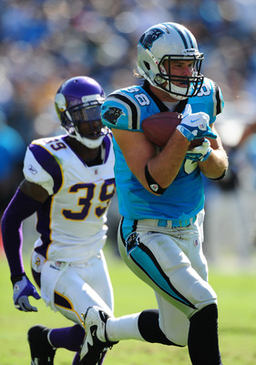 Greg Olsen (88) will be the Panthers' undisputed No. 1 tight end with Jeremy Shockey no longer on the team.