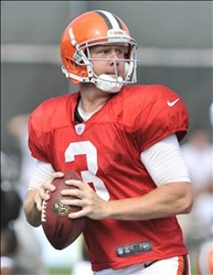 Brandon Weeden: starting quarterback.