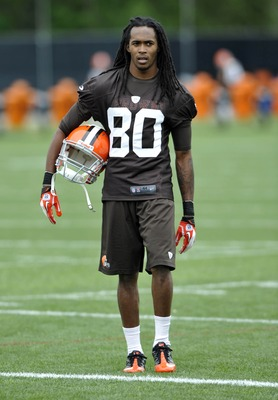 Travis Benjamin has used training camp to improve his hands.