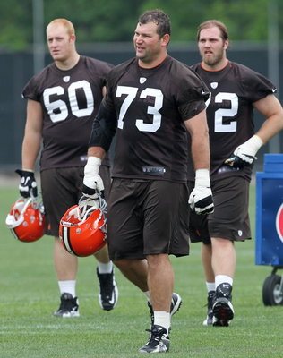 Miller (No. 60) is a second-teamer (Photo: John Kuntz/Plain Dealer).