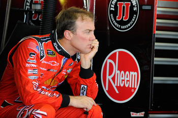 Kevin Harvick has dropped close to the Chase bubble spot