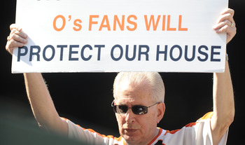 Regardless of how fans feel, the Orioles have struggled at Camden Yards.