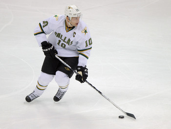 Stars' Captain Brendan Morrow will lead a revamped roster to the playoffs this season