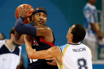 Pablo Prigioni will be feeding, not defending, Carmelo Anthony in 2013.
