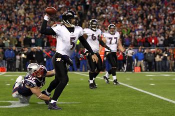 Do not sleep on Joe Flacco on draft day, he brings stabilty to any Fantasy team