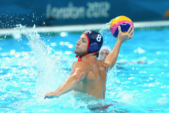 The U.S. men's water polo team is a long shot to medal, but they advanced to the quarterfinals while China didn't even compete.