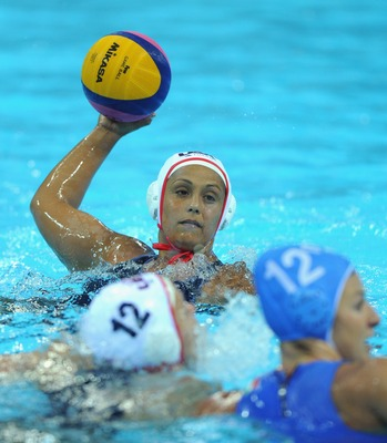 The U.S. women's water polo team sits one win away from a medal.
