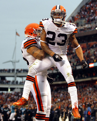 Cornerback Joe Haden is the leader of a young and talented secondary in Cleveland.