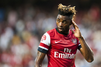 Arsenal's Alex Song