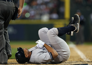 Alex Rodriguez should be out for a total of two months.