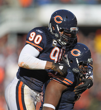 Julius Peppers and Israel Idonije