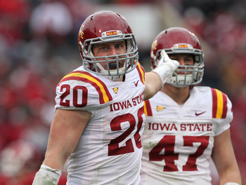 Jake Knott led the Cyclones in tackles last year.