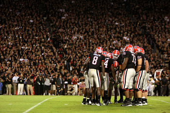 Sanford Stadium had a 'Black Out' in September 2008.