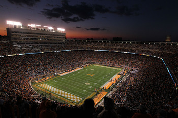 Enter Neyland Stadium on a game night and try not getting the chills.