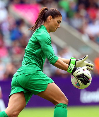USWNT Goalkeeper Hope Solo