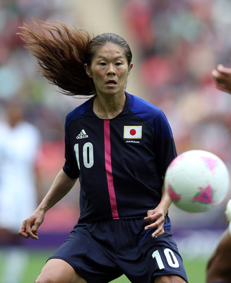 Japan No. 10 Homare Sawa
