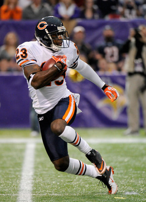 Chicago's Devin Hester has returned an NFL-record 17 kicks for touchdowns.