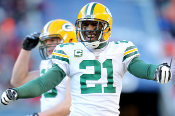 There have been many happy returns for Charles Woodson since he joined the Packers.