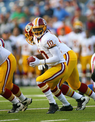 Redskins' rookie quarterback Robert Griffin III played well vs. the Bills in his preseason debut