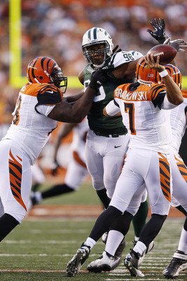 Jets' first-rounder Quinton Coples was impressive vs. the Bengals