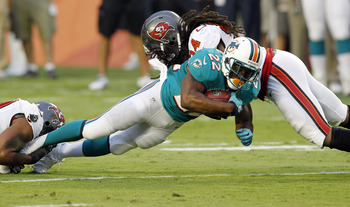 Adrian Clayborn had a team-high 7.5 of the Buccaneers' NFL-low 23 sacks in 2011