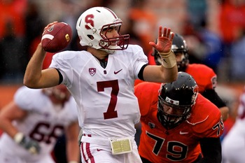 Brett Nottingham, candidate to replace Andrew Luck at Stanford